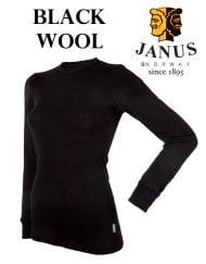 Black Wool dömu